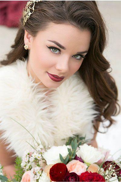 Winter Wedding Makeup More
