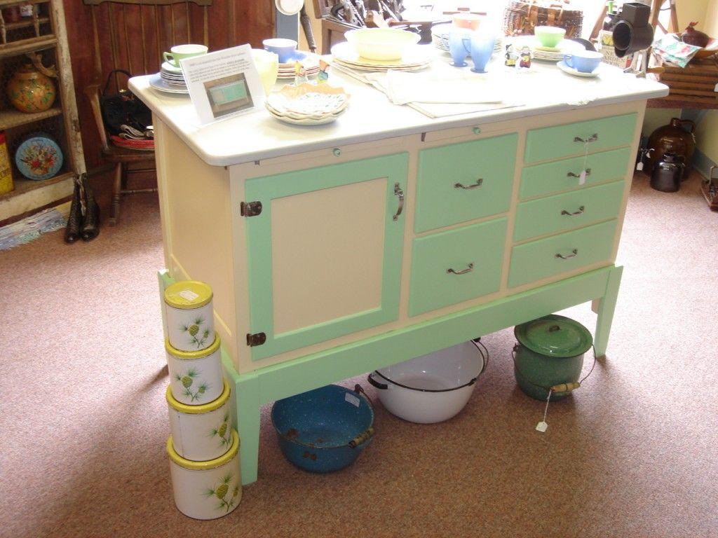 Enamel Top Cabinet Restored Enamel Top Cabinet For The Home Pinterest Image