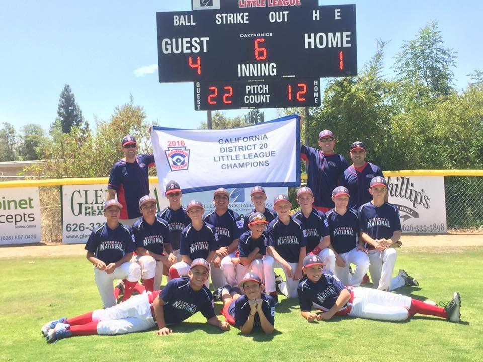 Glendora National Little League Little League League Glendora