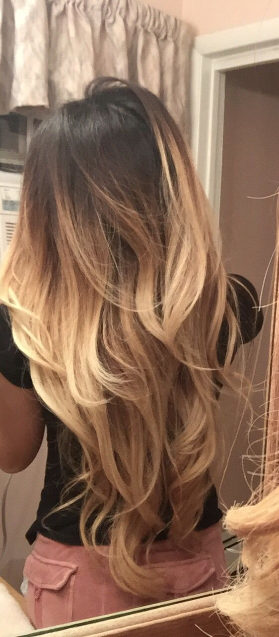 Blonde Ombre Balayage Touch Up Beautiful Hair Pinterest