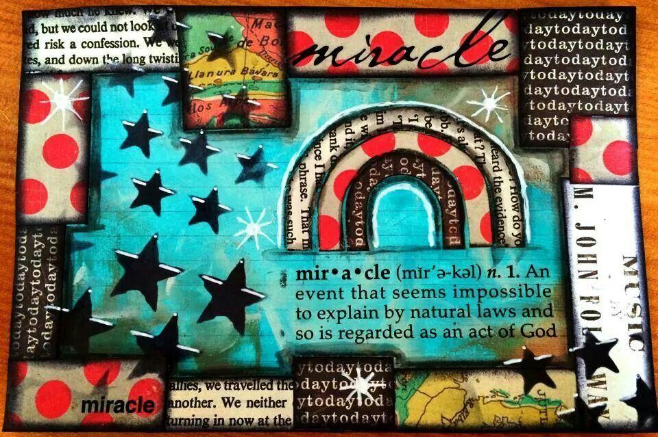 Art Journal Page - Tracy Scott