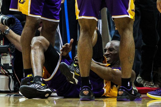 1a1f6d057a8 Kobe Bryant s Achilles tendon surgery scar is pretty gnarly (Photo ...