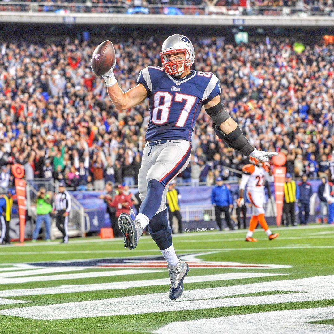 Gillette Stadium On Instagram Happy Birthday Gronk New England Patriots Gronkowski New England Patriots Football