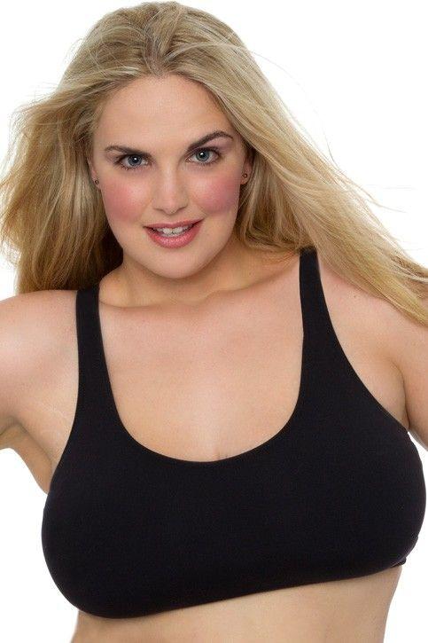 Plus Size Sports Bra Top   Fabulous women   Pinterest   Tops ...