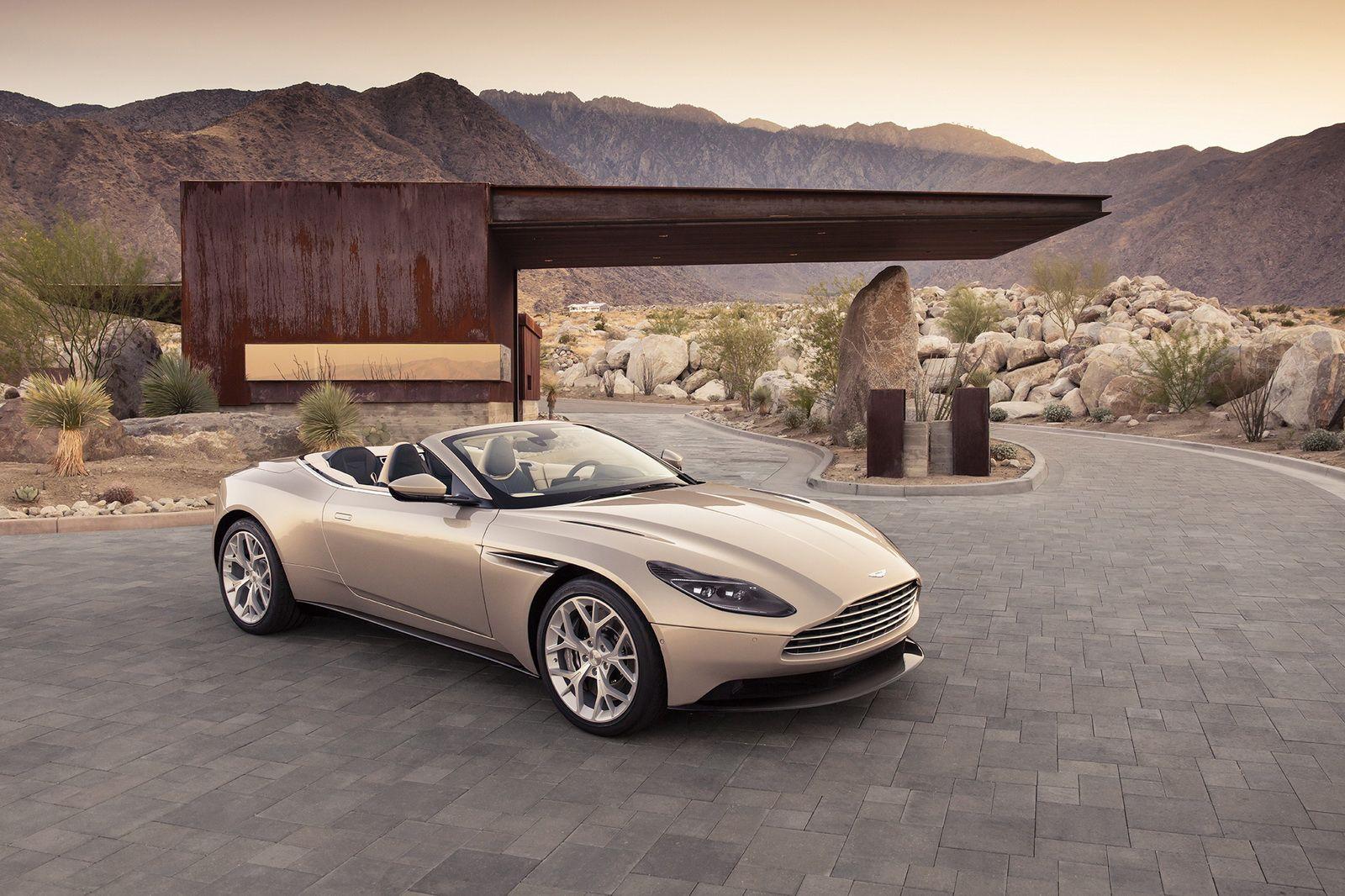 Aston Martin Takes The Top Off Of Its Db11 Volante Aston Martin