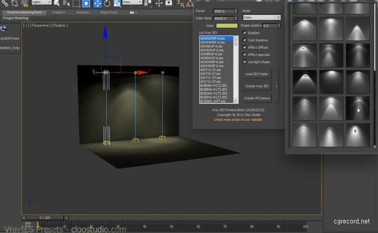 Vrayies Presets Script For 3ds Max Cg Daily News Tutorials Pinterest 3ds Max 3d And