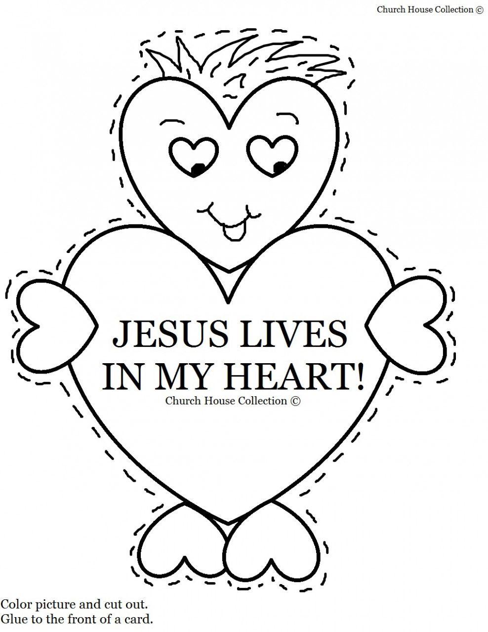 Jesus Valentine In 2020 Sunday School Valentines Church