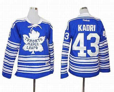 ... (Royal Blue Authentic 2014 Women Toronto Maple Leafs Jersey 43 Nazem  Kadri 2014 blue Winter Classic Jerseys ... 33fdfcc31