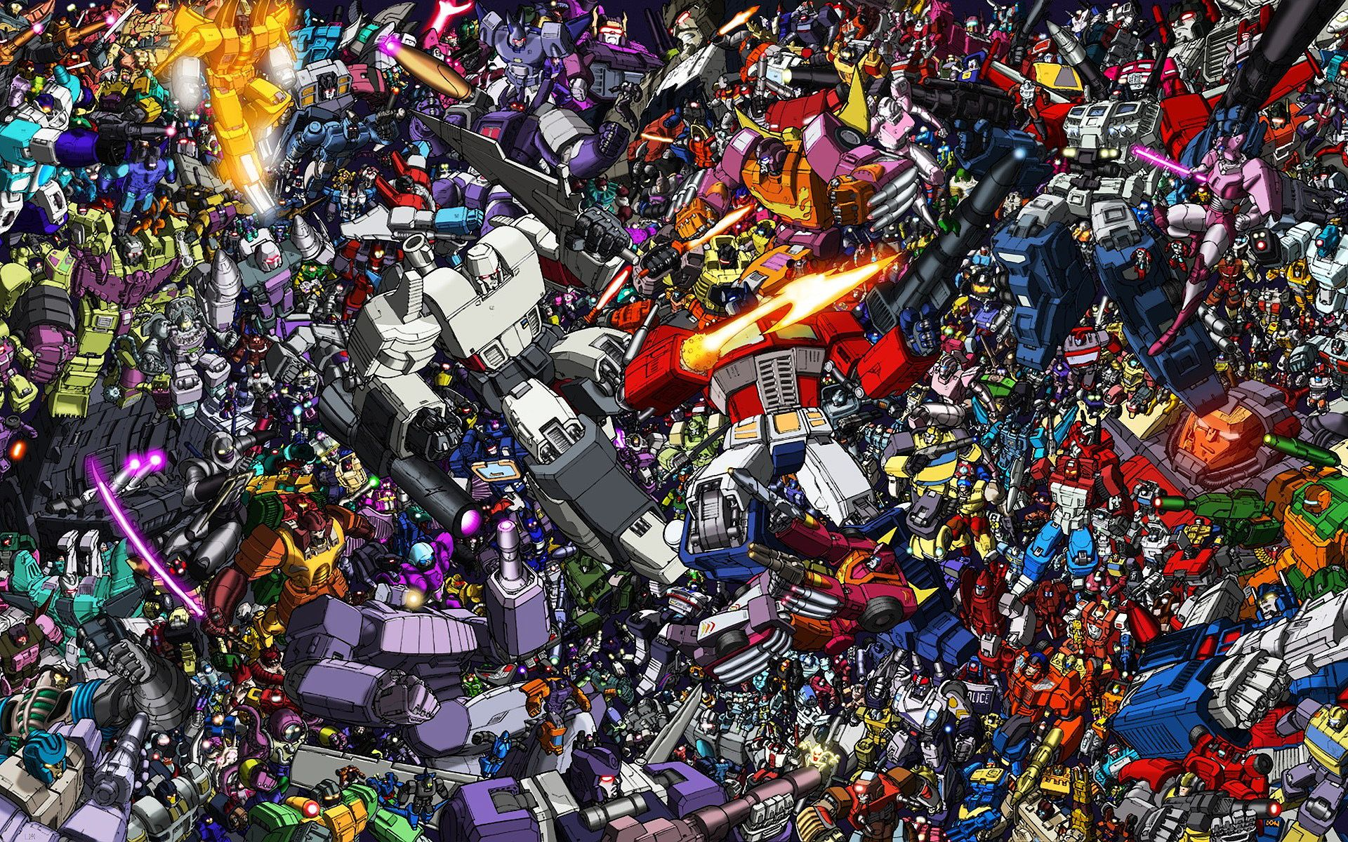 Transformers more than meets the eye universe