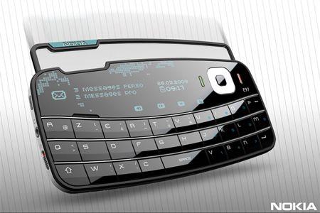 Stylish Nokia E97 Envelope Concept Cell Phone   Tuvie