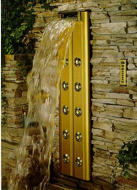 Kohler--waterfall shower | For the Home | Pinterest | Waterfall ...