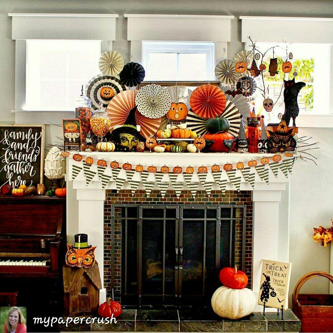 interiors autumn halloween fall fall season interieur halloween labels spooky halloween deco