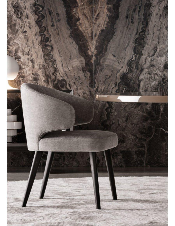 Luxe Gestoffeerde Eetkamerstoelen.Minotti Aston Eetkamerstoel Dining Interieur In 2019