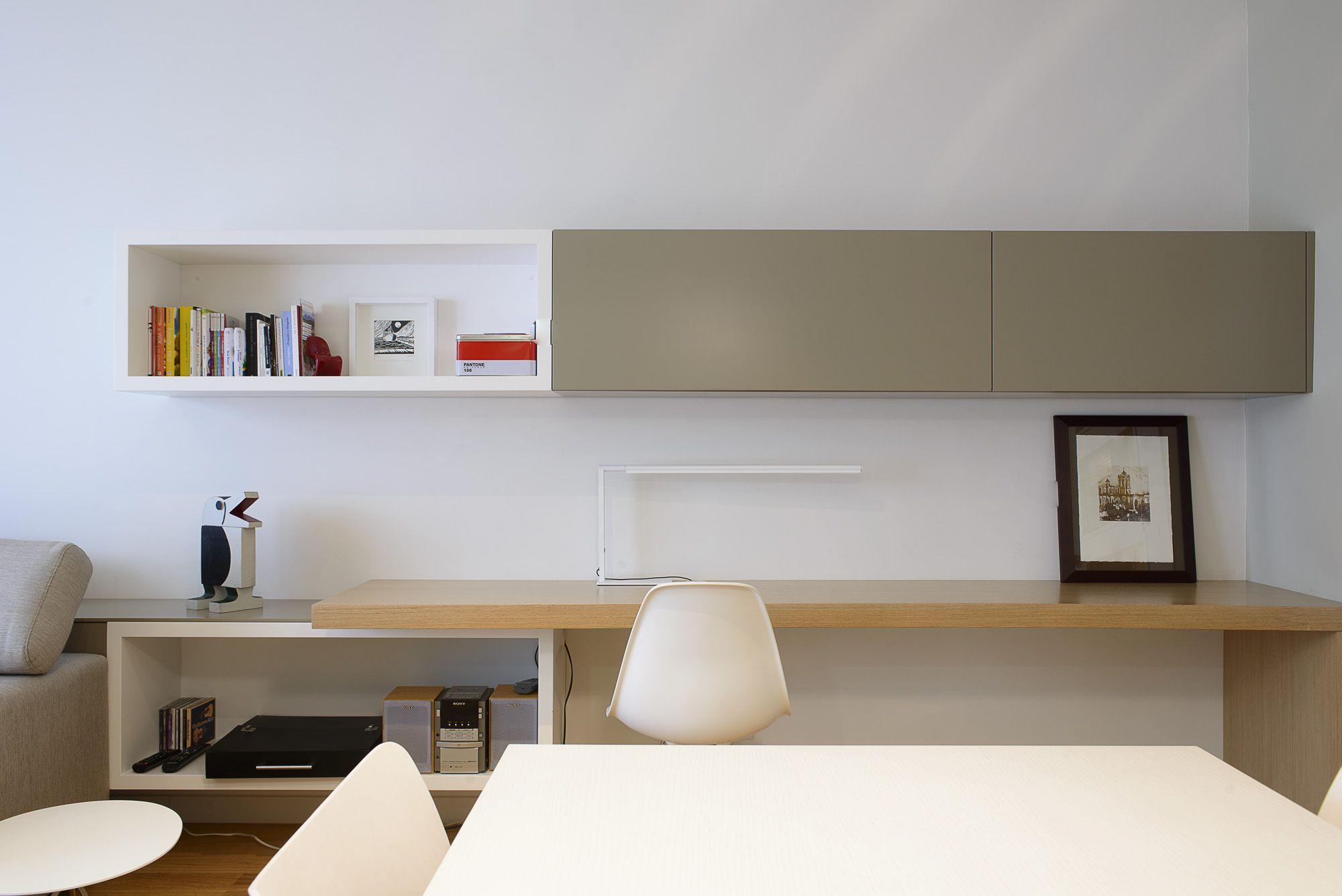 Comedor Estudio Salon Contemporaneo Decoracion Via  # Muebles Kazzano Que Opinion Teneis