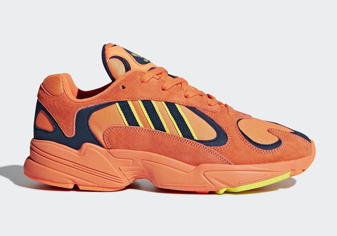 Coolest adidas YUNG-1 Orange Yellow Navy Last