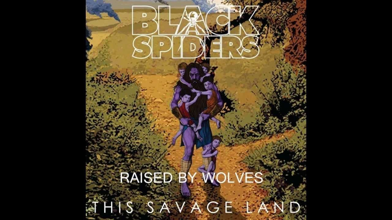 Black Spiders - Raised By Wolves #metal #rock #video #listeningnow
