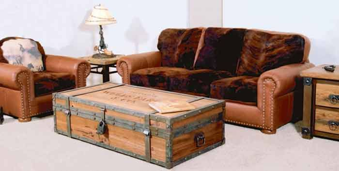Coffee Table Wells Fargo American Old West CBCC621A Home