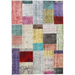 Photo of Patchwork Teppich 140×200 Moderner Teppich