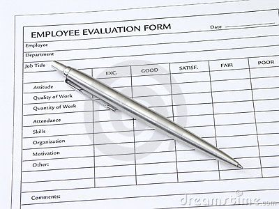 In the hospitality industry, employee evaluation is commonly used as
