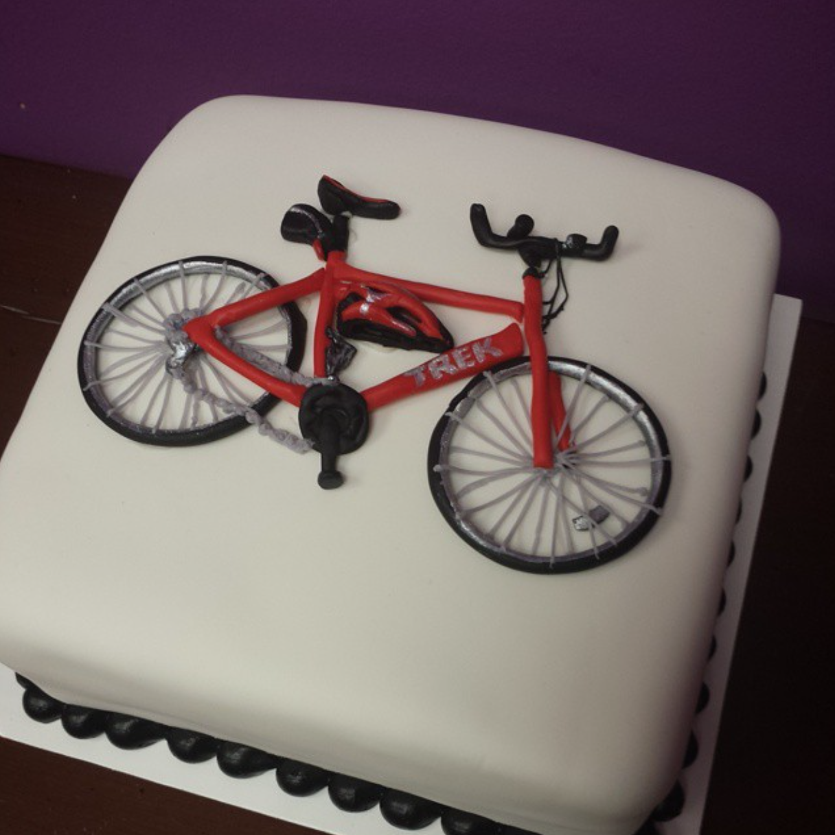 Red Bike Cake By Frostings Bake Shop