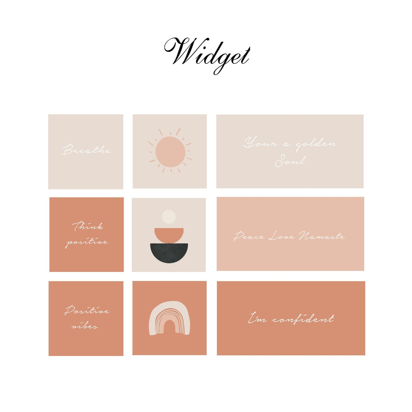 Neutral, minimalist and abstract iphone wallpaper. Neutral boho IOS 14 App Icons, Cream Aesthetic iPhone ...