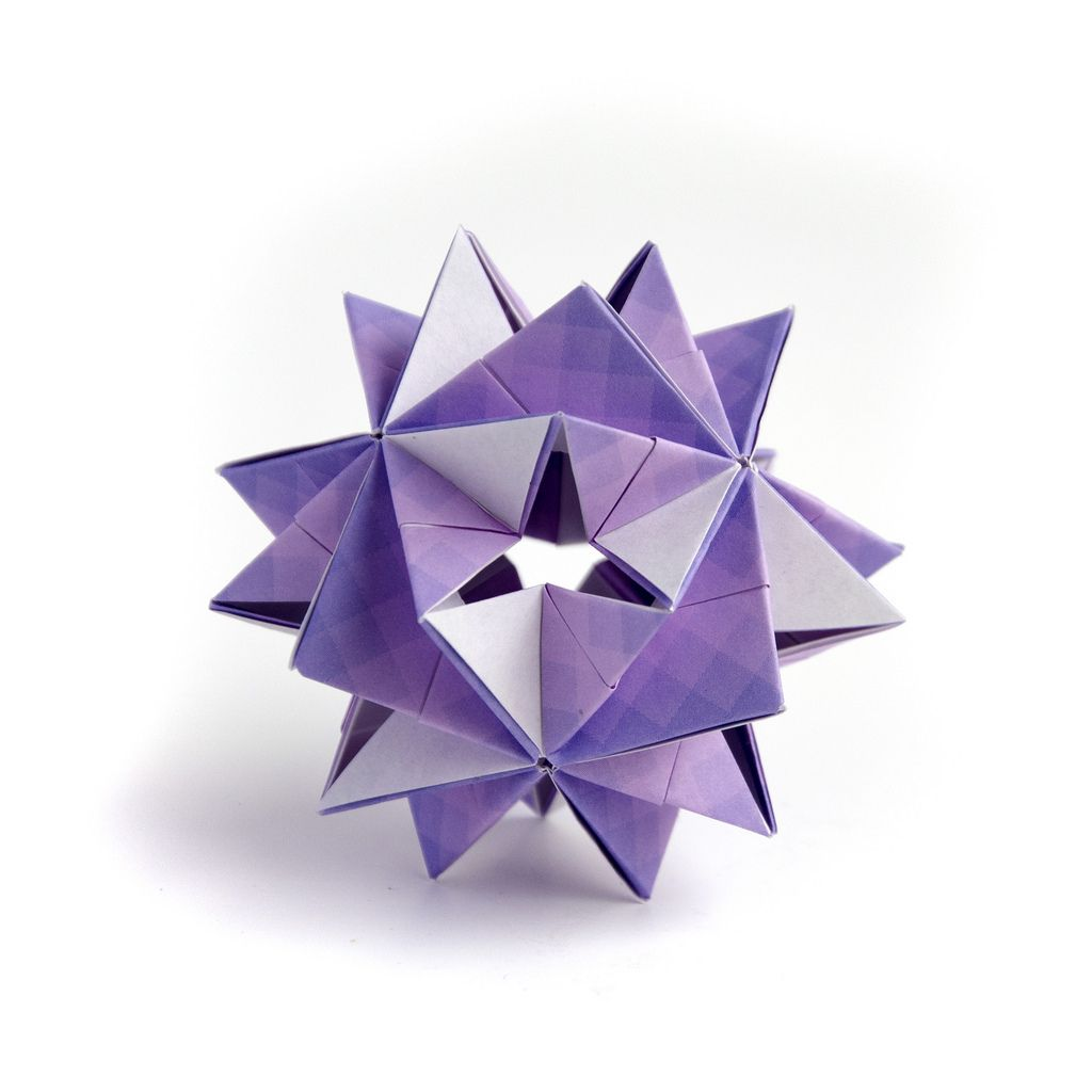 Easy Peasy Origami Kusudama From 12 Squares Easy Peasy Origami