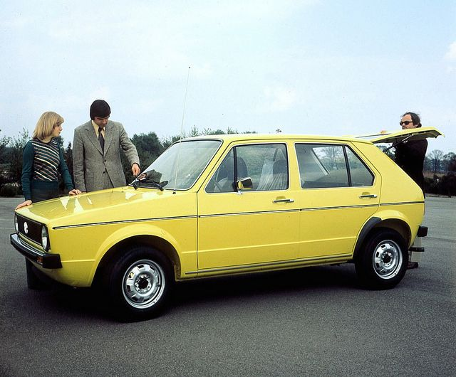 1974 Vw Golf I Beauty Of Shapes Pinterest Vw Golf And Volkswagen