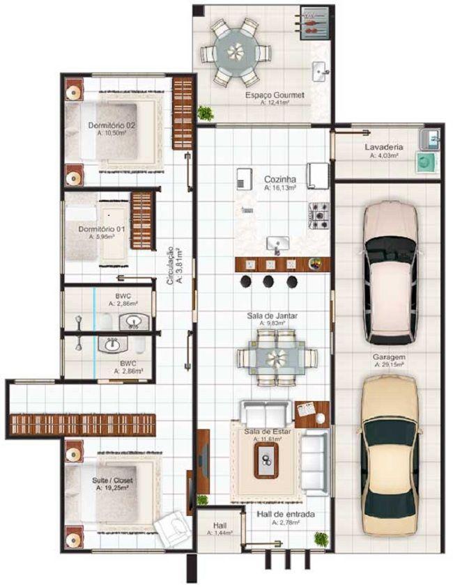 Plano de casa de 150 m2 portafolio arquitectura for Casa moderna 150 m2