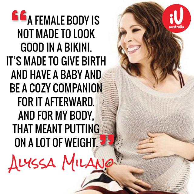 Positive Body Image Pregnancy Quotes 1
