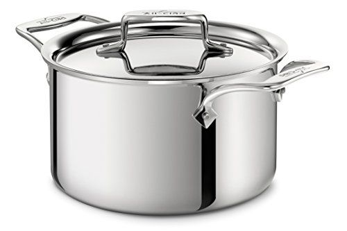 Allclad 4303 Stainless Steel Triply Bonded Dishwasher Safe Casserole With Lid Cookware 3quart Silver For More Infor Cookware Stainless Dishwasher Dishwasher
