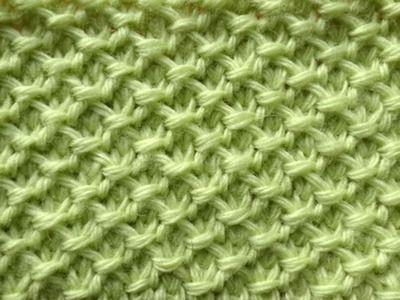 Путанка Тунисское вязание Tunisian crochet pattern Узор 8 | Вязание ...