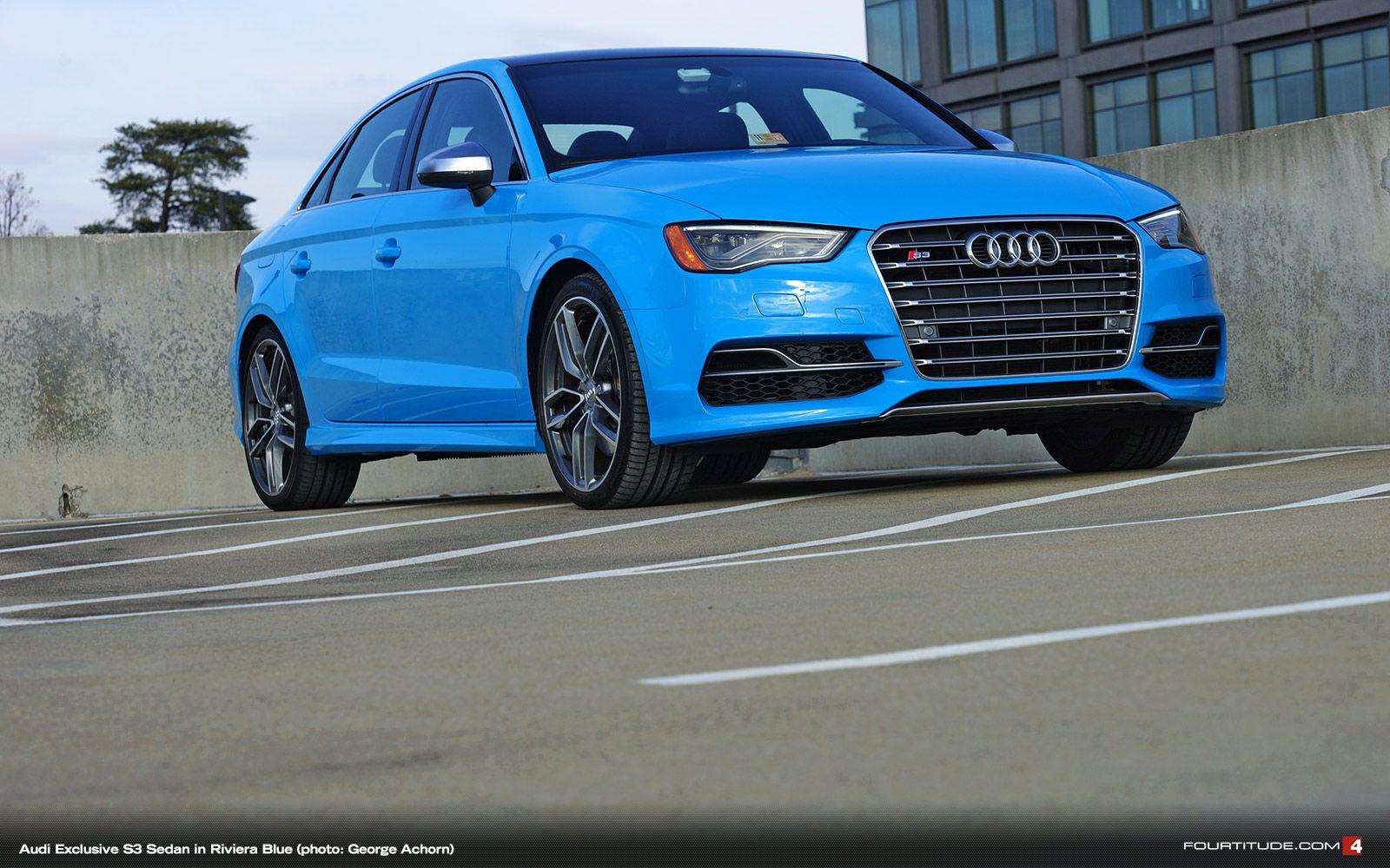 Audi Exclusive S3 Sedan in Eye-Searing Riviera Blue – Fourtitude.com
