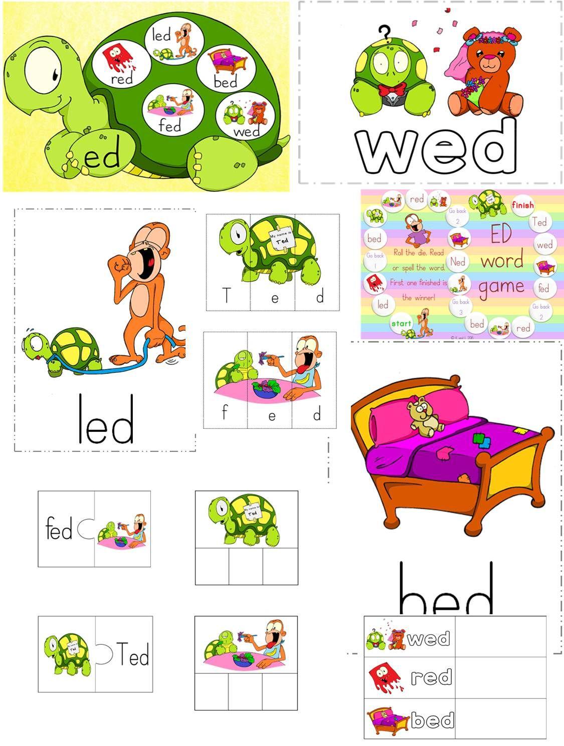 Ed Word Family Pack Get Yours Today Word Families Words Kindergarten [ 1489 x 1125 Pixel ]