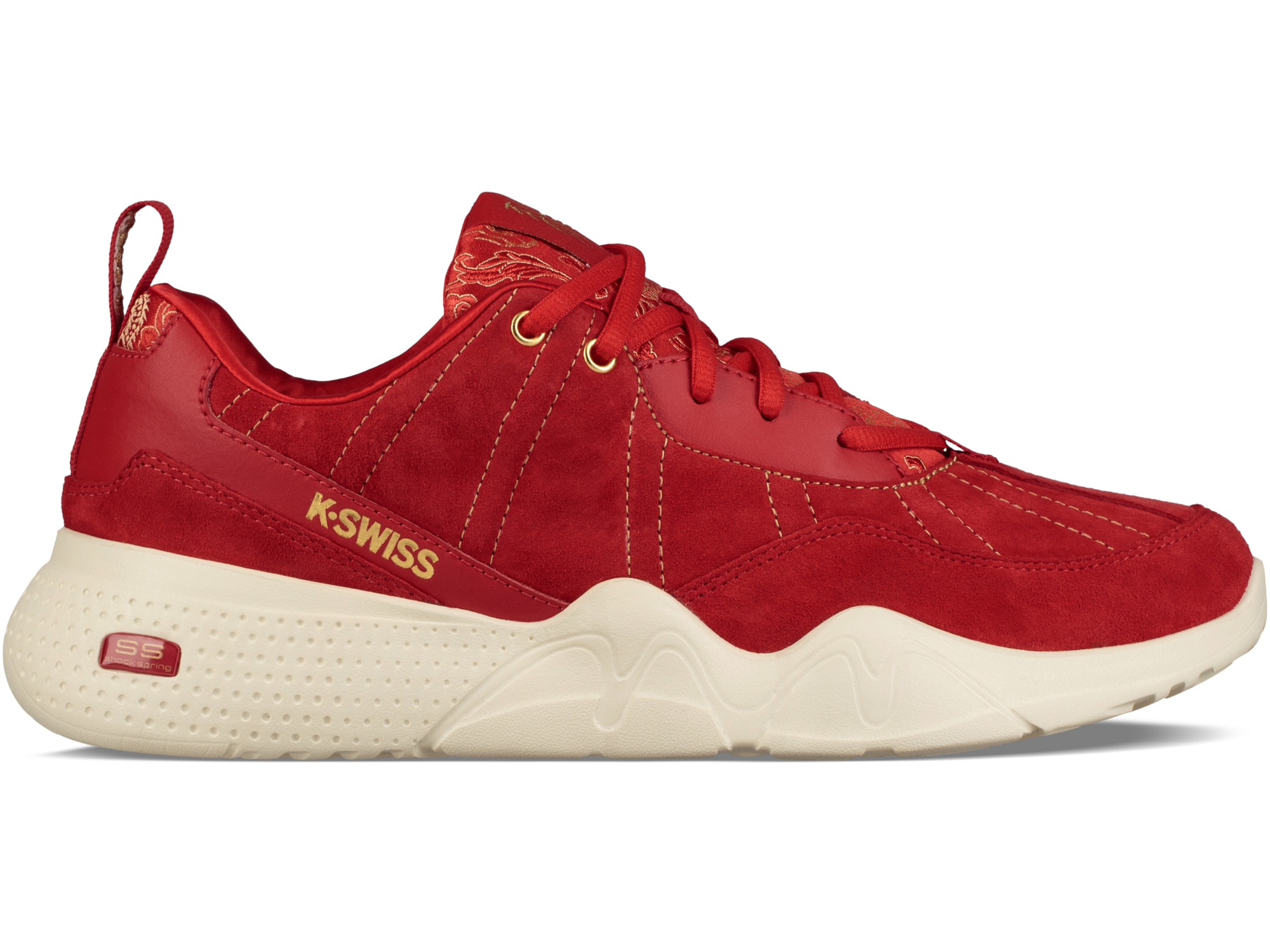 96517688M WOMEN'S CR329 CHINESE NEW YEAR RED/GOLD