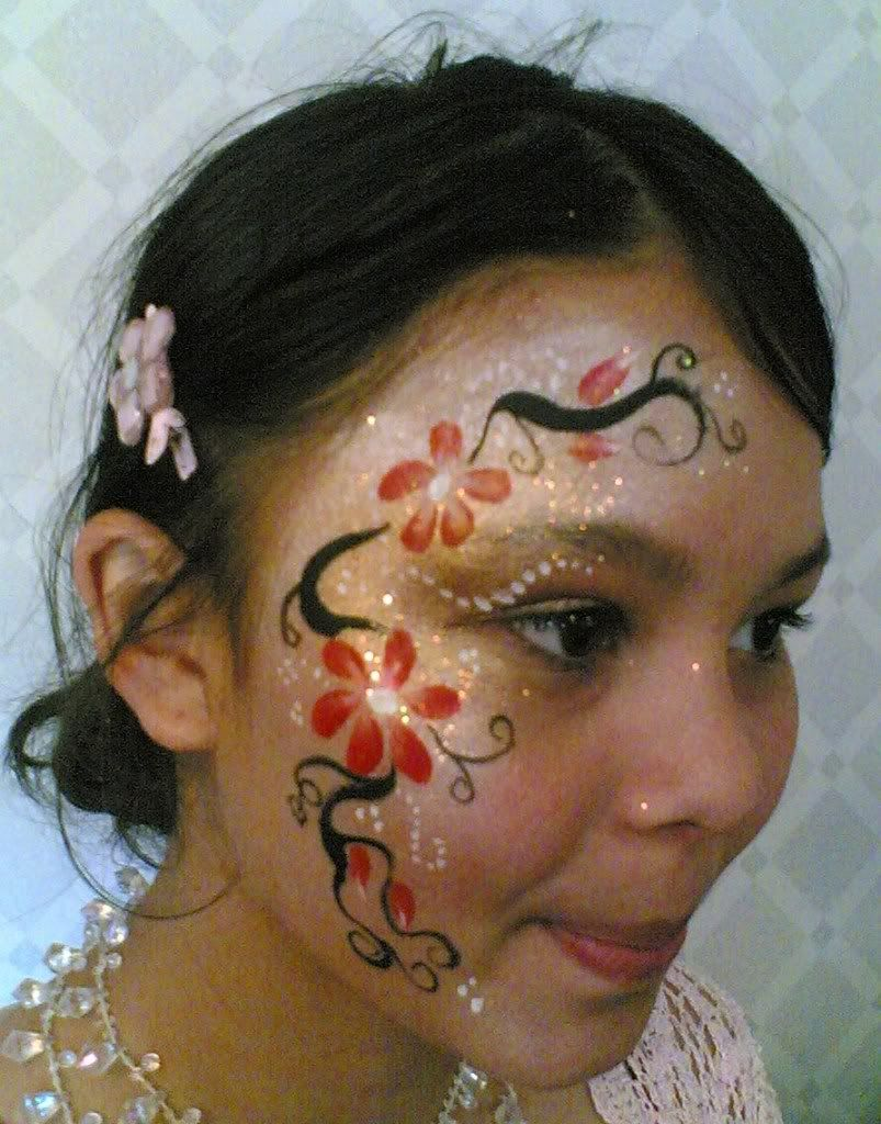 cool face paint designs face painting henna tattoo facepainting pinterest henna cool. Black Bedroom Furniture Sets. Home Design Ideas