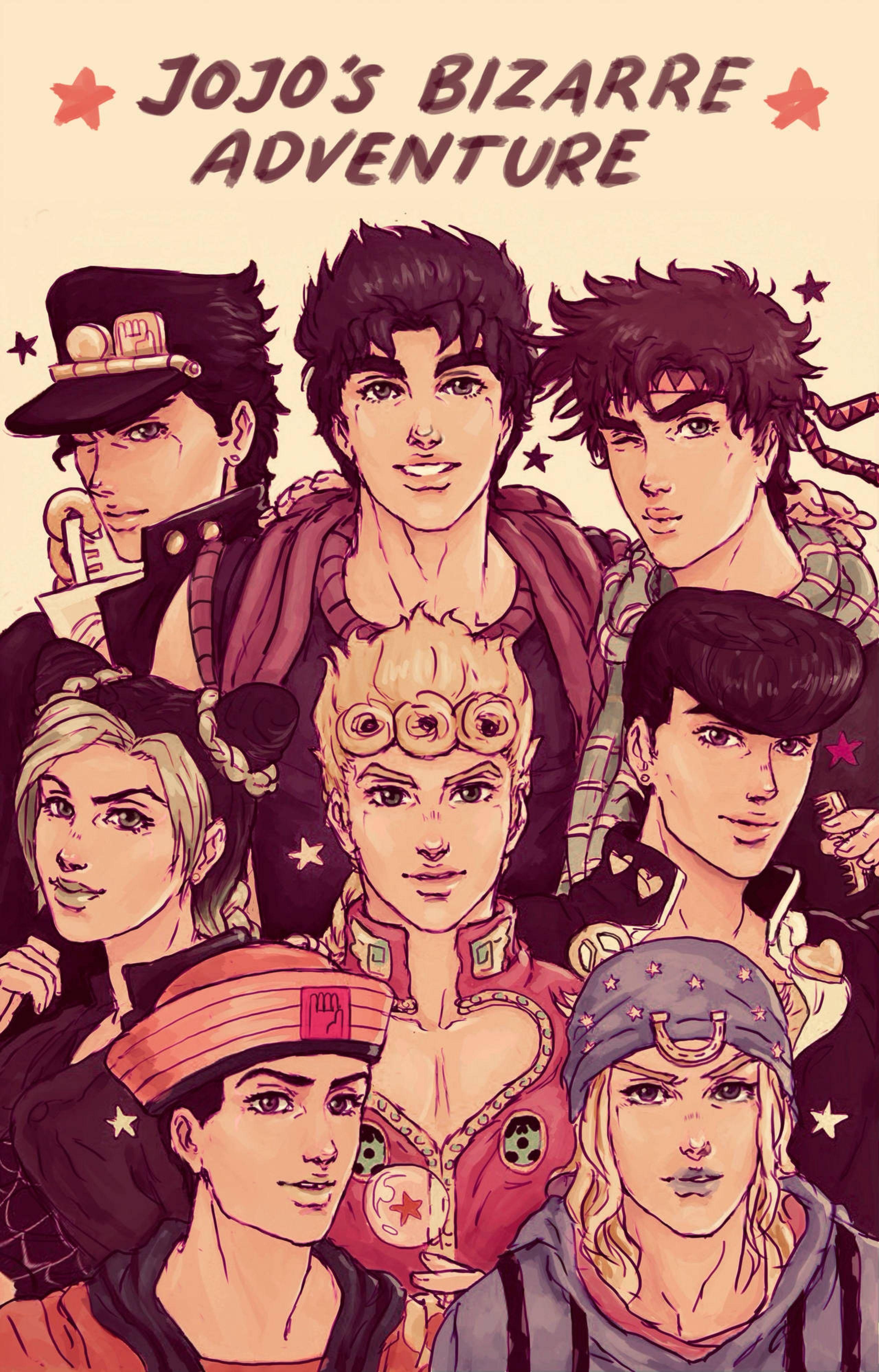 Joestar Day By Iahme2 On Deviantart Jojo Anime Jojo Bizzare