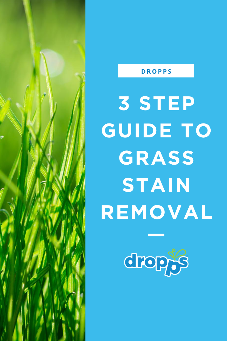 3 Step Guide To Grass Stain Removal Grass Stains Grass Stain Remover Stain