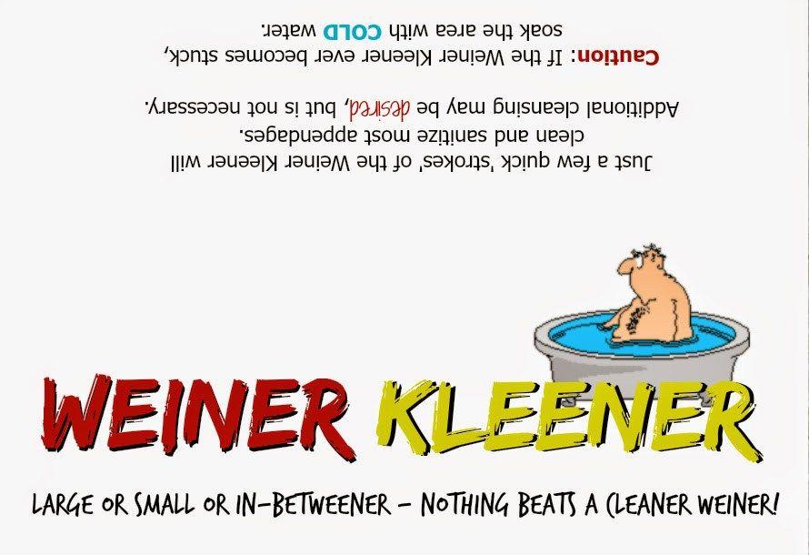 Great Gag Gift: Weiner Cleaner   christmas   Pinterest