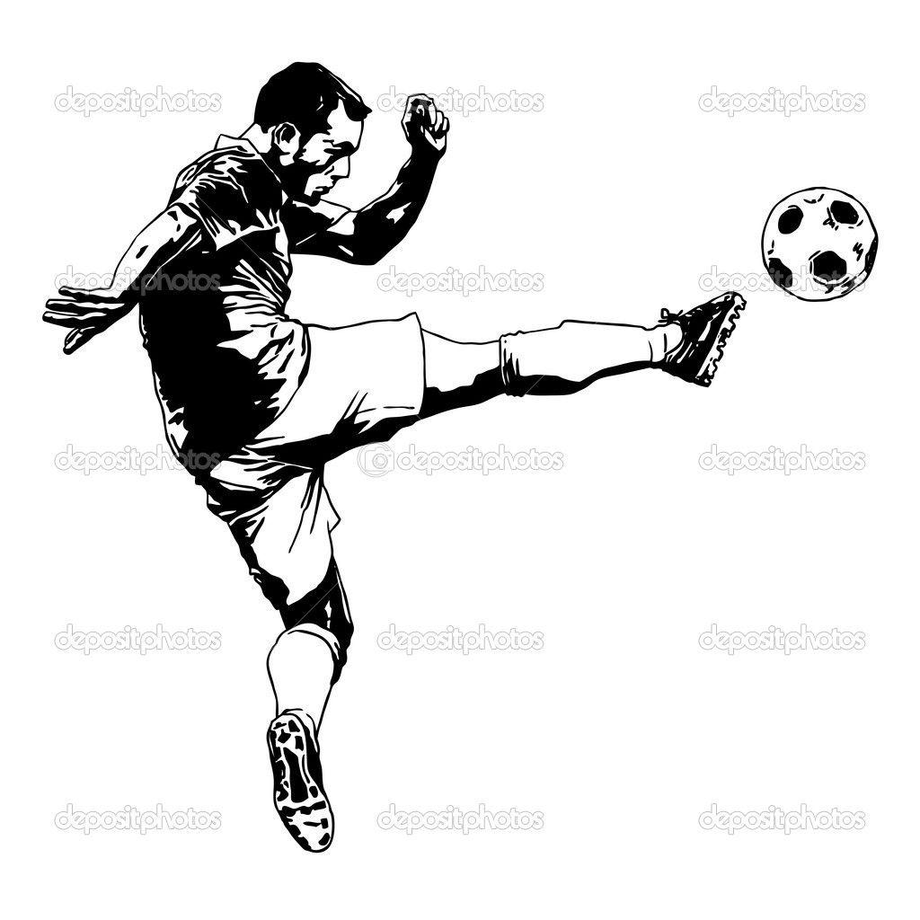 Bildergebnis Fur Fussballspieler Zeichnen Fussballspieler
