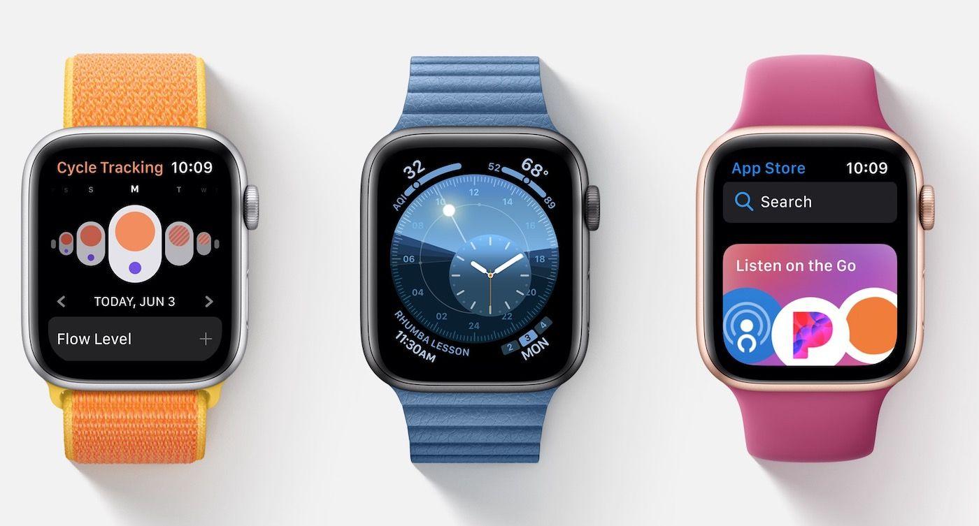 watchOS 6 bêta 1 est disponible Apple watch, Montre