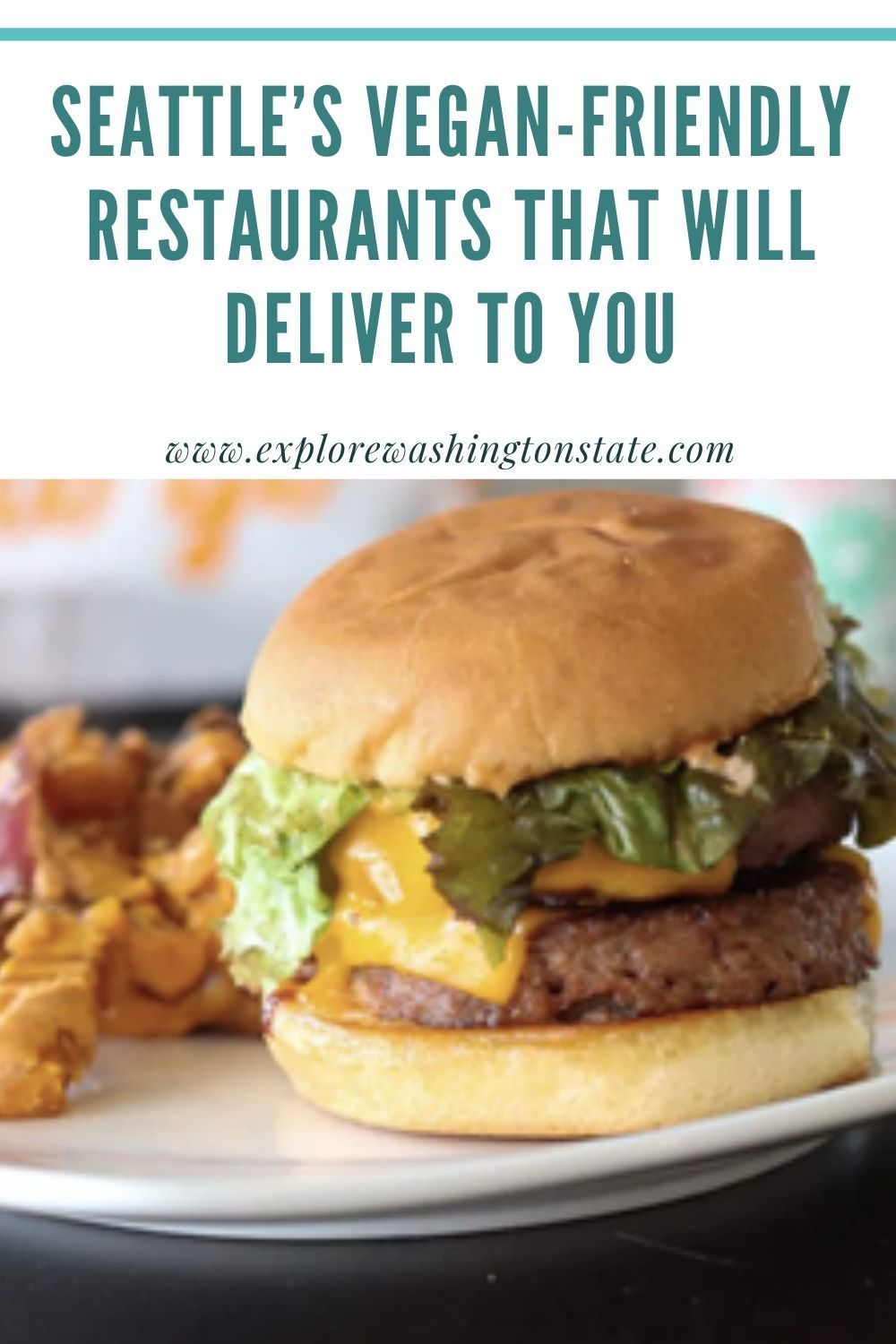 Seattle S Vegan Friendly Restaurants That Will Deliver To You Explore Washington State In 2020 Vegan Friendly Restaurants Vegan Restaurants Vegan Cafe
