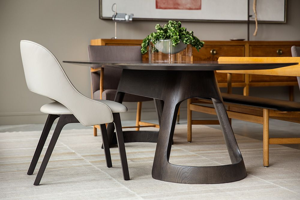 Caste Design  Polson Dining Table  H&h Dubai  Furniture Extraordinary Dining Room Furniture Dubai Decorating Design