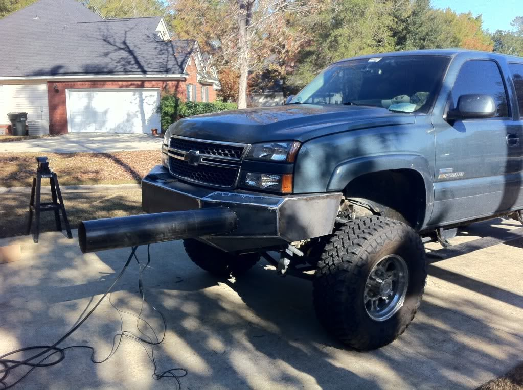 Chevrolet And Gmc Diesel Truck Forums View Single Post My Custom Bumper Build Diesel Trucks Diesel Trucks