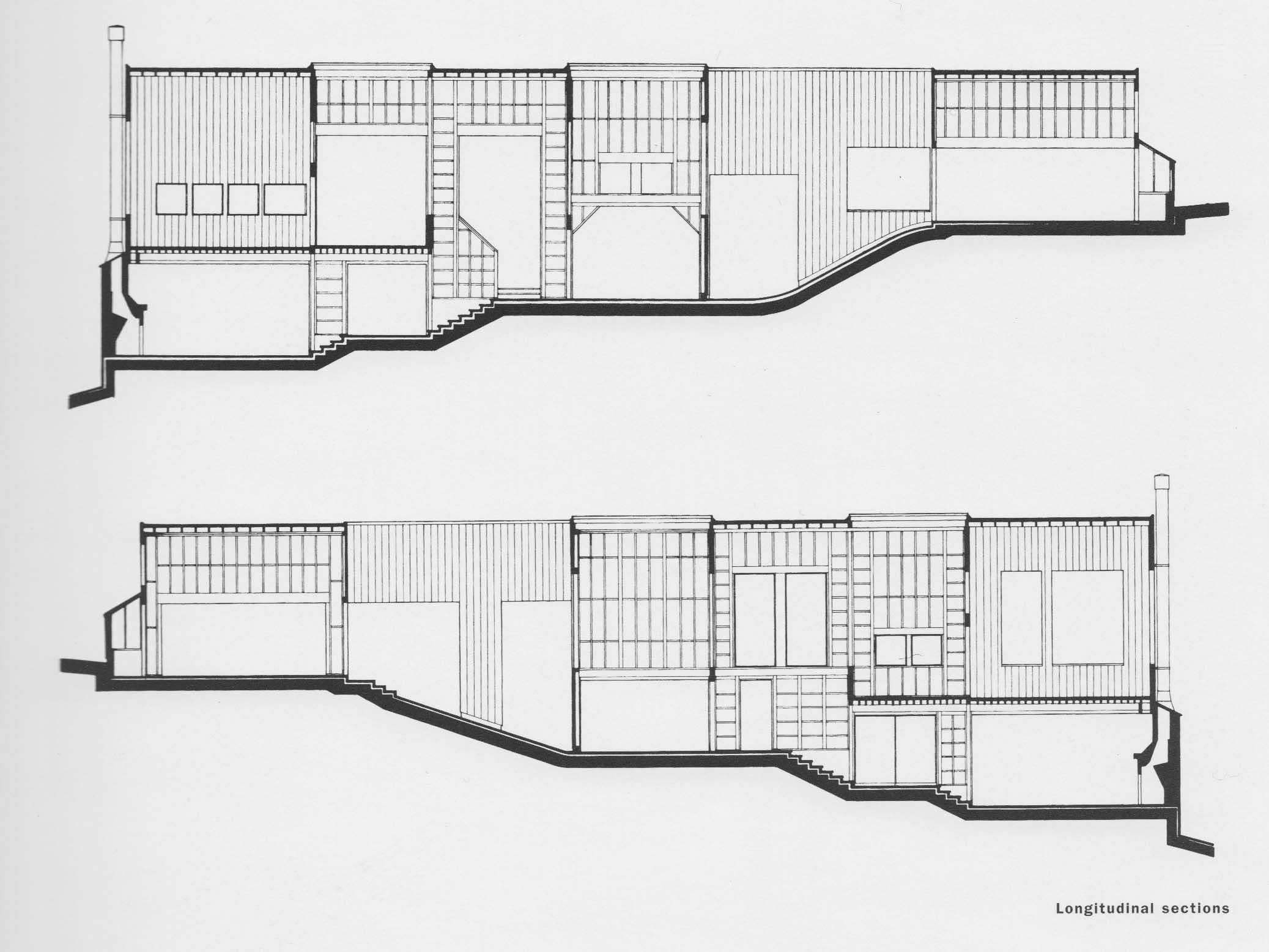 hines house sections william turnbull jr buildings in the