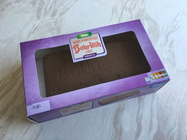 Asda Personalised Birthday Cakes In Store ~ Asda new bourbon cake pic global groceries