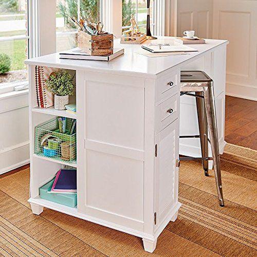 Project Center Desk With 2 Sides For Multple Storage Opti Https Www Dp B01m72sk56 Ref Cm Sw R Craft Room Office Desk Home Office Furniture Sets