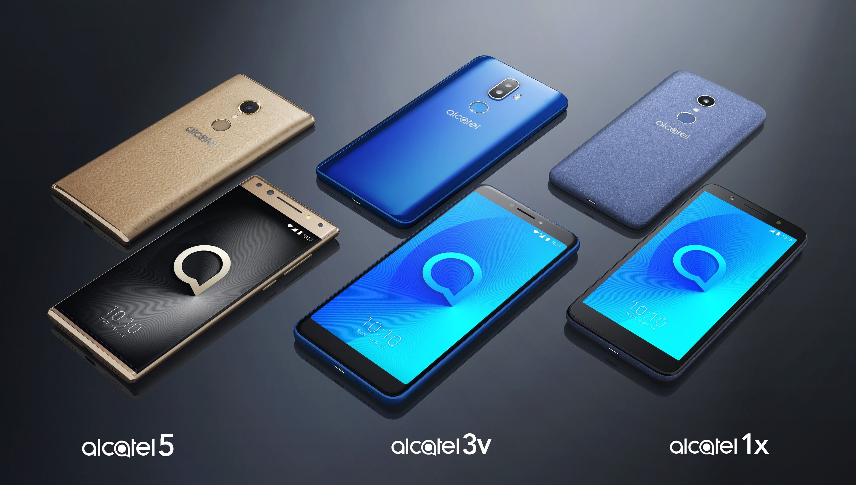TCL launches three new Alcatel phones at CES 2018 | Nerd Stuff