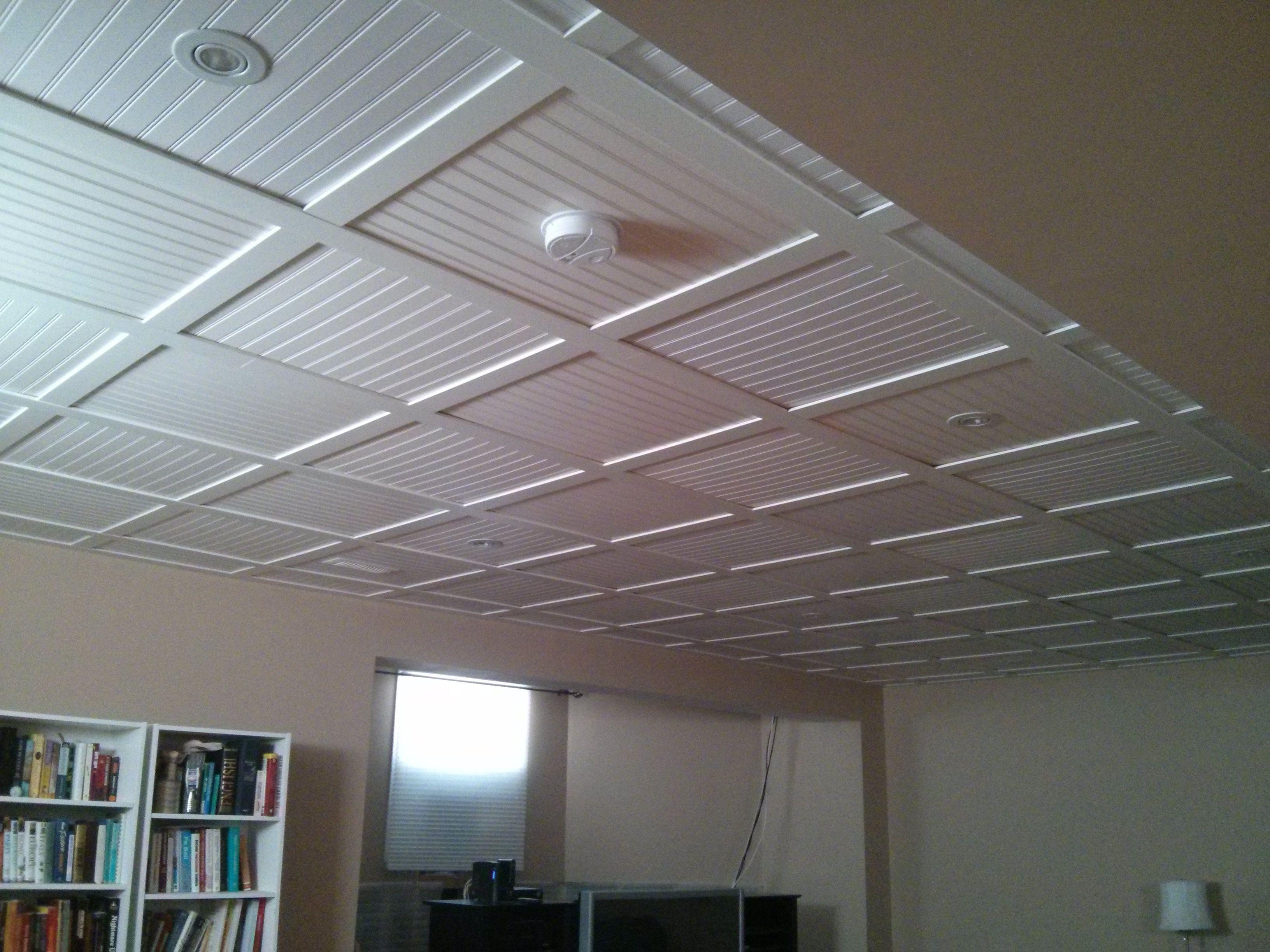 Beadboard drop ceiling tiles httpcreativechairsandtables beadboard drop ceiling tiles dailygadgetfo Gallery