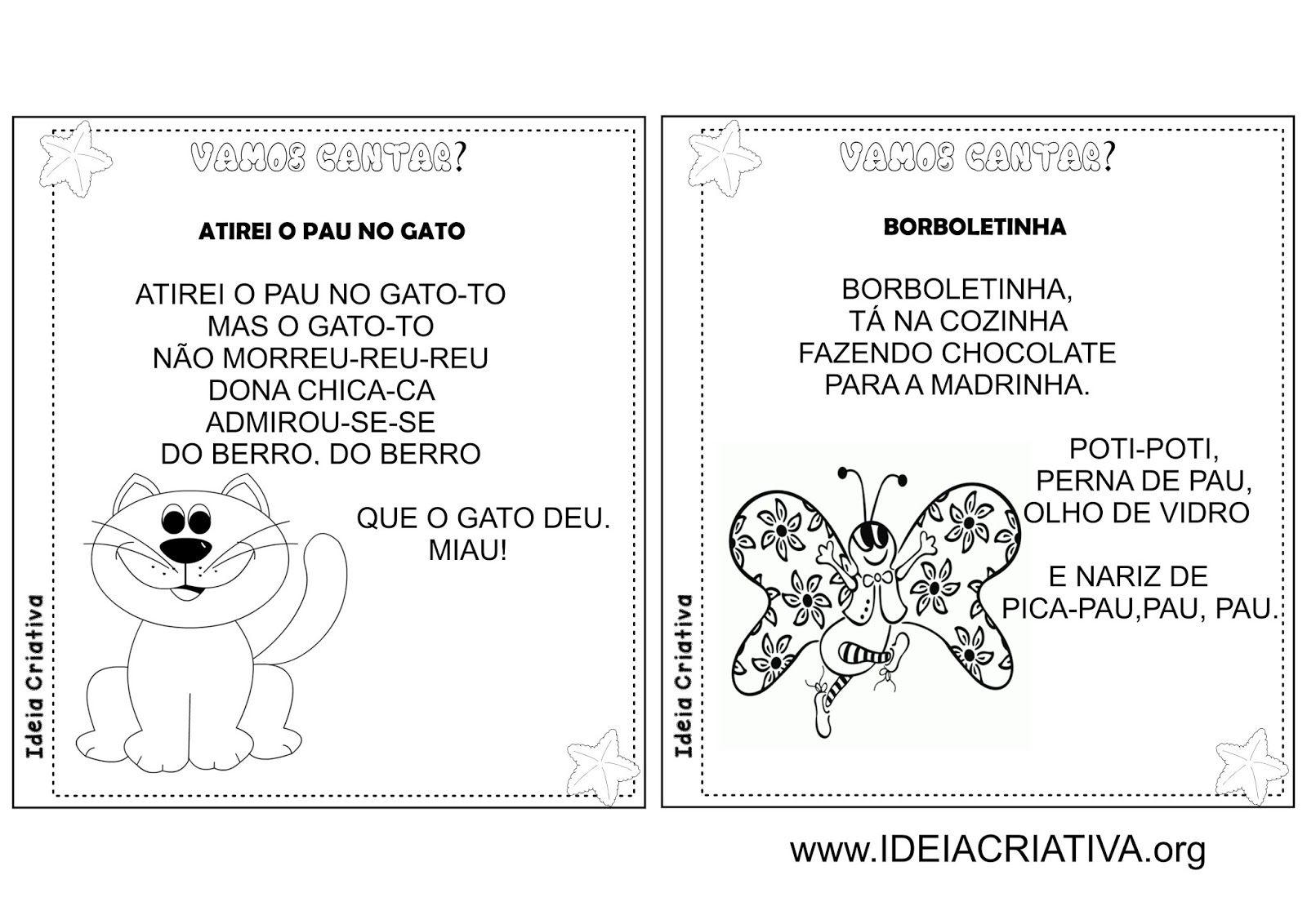 Populares Álbum Ilustrado Cantigas de Roda Folclore | Ju | Pinterest  BT97