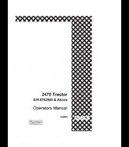 Best case ih 2470 tractor operators manual download